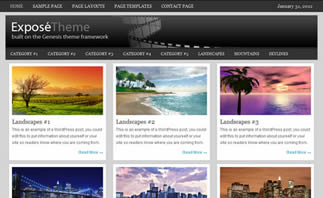 pagina web de fotografia y paisajes