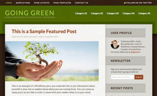 pagina web para sitios ecologicos
